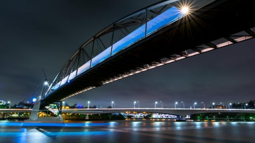 Brisbane Bridge by night Litescape media photographer