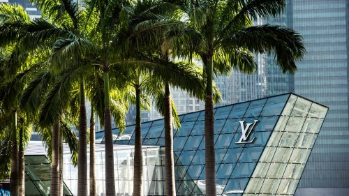 Louis Vuitton shop in Marina Bay Sands Singapore